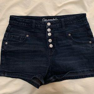 Aeropostale Women's High Rise Shorty shorts